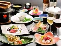 【さくらディナー】新潟の美味がぎっしり★海と山の幸を存分にご堪能ください♪
