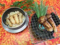 【松茸×海鮮浜焼き】秋の味覚の王様!松茸料理2種付!海鮮浜焼きとバイキング