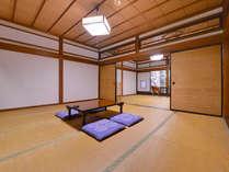 *和室二間(客室一例)/日本家屋の素晴らしさをご堪能下さい。
