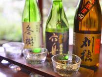*利き酒セット/米どころ秋田のお酒をご堪能下さい。