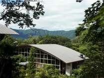 森に囲まれたレストランでは、地のものを大切にしたお料理を提供しています。