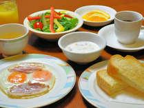 【朝食】洋食セット