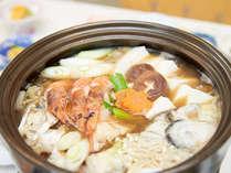 冬のオススメ!!新鮮な鮮魚が盛りだくさんの海鮮鍋会席 1泊2食付プラン♪