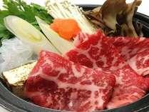 2月限定「選べる鍋プラン」/牛すき焼き