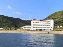 *【外観】佐多岬展望台・車で約10分★オーシャンビュー客室と展望風呂が自慢です