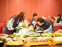 【もっけです!KUON ファミリーバイキング】ご家族でお楽しみいただける夕食バイキング