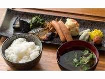 大阪産の食材を使用した和朝食[和定食]