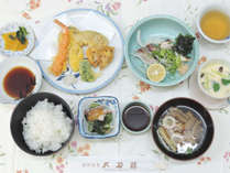*【スタンダード夕食一例】和食中心の日替わり料理