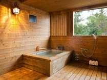 半露天風呂付客室