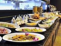 【朝食ビュッフェ】新鮮な食材を使用した朝食をお召し上がり下さい。朝食7時~10時
