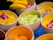 朝のフルーツでビタミン・ミネラル・食物繊維をたっぷり頂きましょう♪