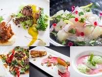 【カルトブランシェ】地元の新鮮食材をふんだんに使ったエグゼススタイルの味覚をご賞味ください。