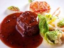 【ル・ミリュウ】沖縄県産 和牛フィレ肉のステーキ トリュフソース