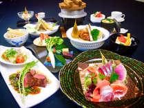 【早割20】早めのご予約で夕食無料アップグレード♪ワンランク上の新鮮魚介と贅沢食材を堪能♪≪海華会席≫