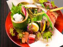 ■和食 関鯵会席■最高級ブランドの関鰺姿造りと、旬の魚三種を大胆に魅せます!