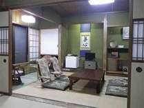 <和室/6~15帖>ごゆっくりお寛ぎ頂けます和室。ご家族やご夫婦でのんびりとお過ごし下さい。(例)