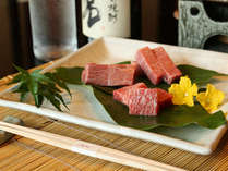 飛騨牛3種食べ比べプランのイメージ。