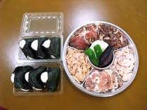 【ジンギスカンをお腹イッパイ食べよう♪】お肉40%増量!2食付/バーベキューグレードアッププラン
