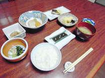 【朝食イメージ】甘くて美味しい『地元石川産』のこしひかり使用