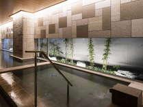 【女性大浴場】人工炭酸泉備え付けの自慢の大浴場です☆