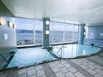 大浴場からも諏訪湖の景色が見られます♪♪