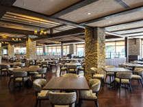 【レストラン】広々とした空間でイタリアンテイストの洋食コースをお愉しみください。