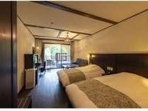 【フォレスタツイン】室内は南欧調の設えで、まるで自然の中にいる様な気分で。