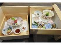 【夕食】和食・箱膳(一例)