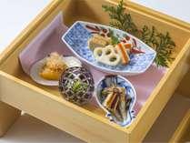 【夕食】和食単品四季折々の食材でご提供致します。