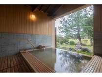 【貸切風呂】檜扇