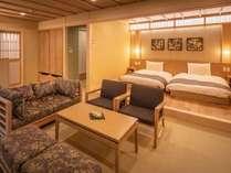 【特別和洋室】3世代やグループ旅行にピッタリのお部屋です。