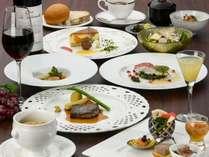 【夕食】秋メニュー秋の食材をふんだんに使用した洋食コース料理