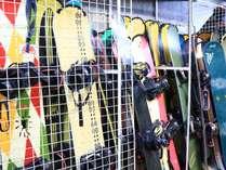 ウィンタースポーツを楽しまれるお客様に満足いただけるように、コインロッカーや乾燥室も完備♪
