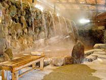 【ひょうたん温泉】三つ星温泉と提携中♪男湯の名物、19本の滝湯は圧巻!