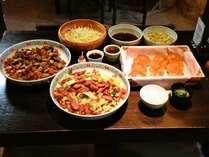 【サンバリー館ご宿泊のお客様】お手軽朝食無料サービス!おかず2品にごはん、味噌汁など。