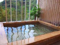 *無料貸切風呂「檜風呂」 素晴らしい眺望をお楽しみください。,神奈川県,江の浦テラス