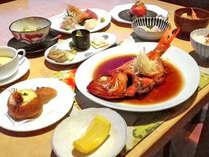 *ディナーメニューは、素材の味を活かした和洋折衷コースです。,神奈川県,江の浦テラス
