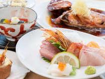 *夕食定番メニュー例「金目鯛の姿煮2~3名サイズ」・自家製パングラタン等