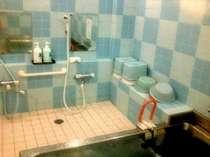 手すりの付いたお風呂。ジェットバスです。