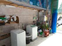 登山などで汚れた服なんかも洗濯機できれいサッパリ!隣に乾燥室も完備しています。