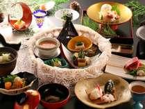 ■おすすめ懐石コース一例 料理長厳選の信州食材をご堪能ください