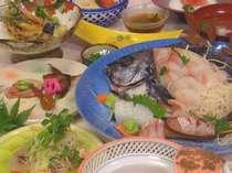 獲れ獲れ時地魚プラン(お造りは2人前)(料理イメージ)
