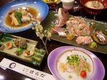 桜鯛会席(料理イメージ)