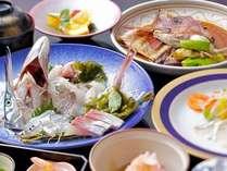 姿造りや煮付け、カルパッチョなど、新鮮なお魚をご賞味下さい!(獲れ獲れ地魚プラン)