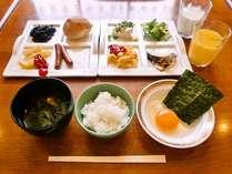 桑名市内唯一の無料朝食バイキングです。