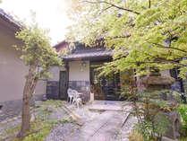 外観喧騒から離れて落ち着いた京都をはんなりとお過ごしいただけます。