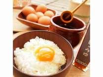 有鄰庵人気メニューのひとつ、卵かけごはん☆