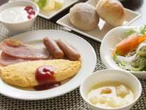 レストラン「サンピア」朝食イメージ