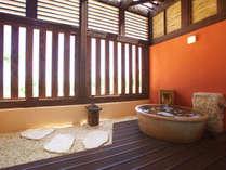 天然温泉付き和室イメージ