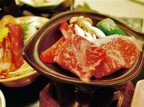 名物『福島牛』の陶板焼きをお楽しみ下さい!